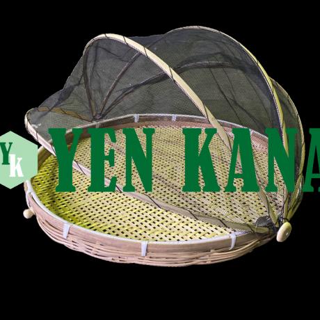 Flat baskets with net (umeboshi zaru) 2