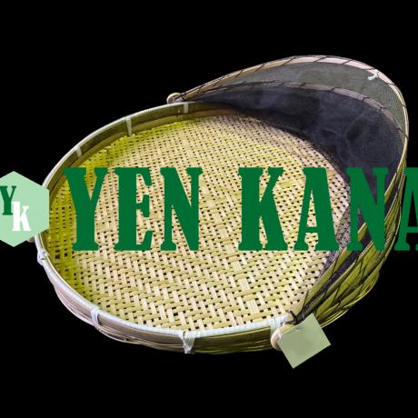 Flat baskets with net (umeboshi zaru) 4